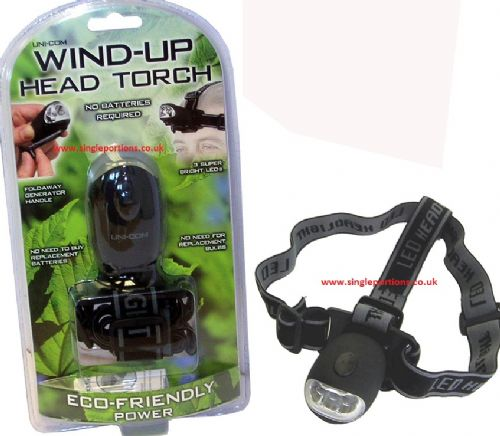 Wind - up - Head Torch and Torch